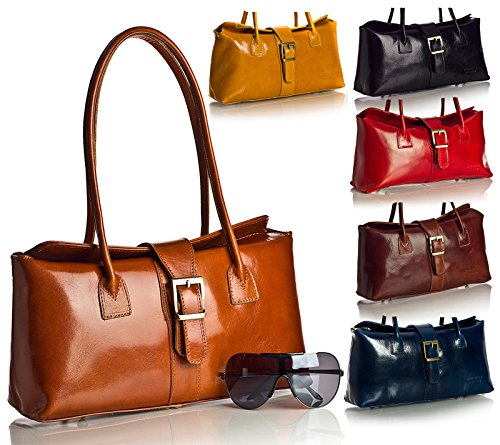 Big Handbag Shop, Borsa a secchiello donna One (Caffè)