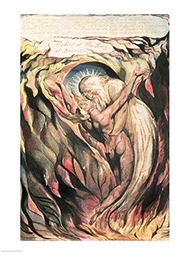 William Blake - Jerusalem The Emanation of The Giant Albion: All Human Forms Kunstdruck (60,96 x 91,44 cm) Albion Form