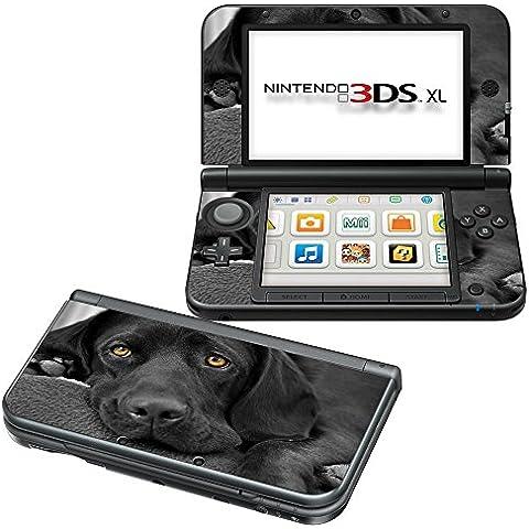 Colección 146, Custom Consola Nintendo DS Lite, 3DS, 3DS XL, Wii U Diseño Pantalla Skin Protector Funda Hunde 065 Nintendo 3DS XL
