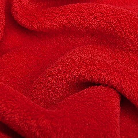 Snug Rug–Snug Rug Deluxe–Kuscheldecke mit Ärmeln, rot, one size