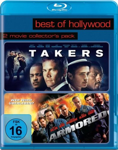 Armored/Takers - Best of Hollywood/2 Movie Collector's Pack [Blu-ray]
