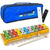 Sonor GS PLUS Glockenspiel + 2 Erweiterungs-Klangstäbe F#/Bb + KEEPDRUM Trage-Tasche