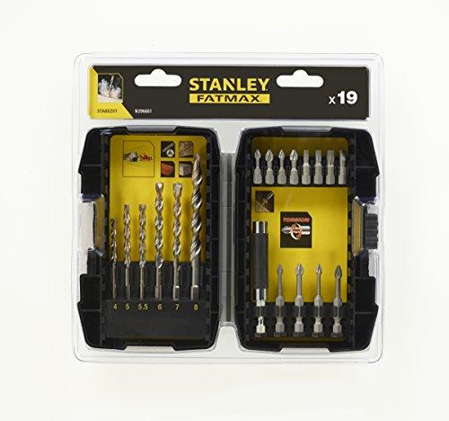 Stanley Betonbohrer- und Schrauberbit-Set