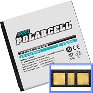 Batterie pour sony ericsson-yendo-w150, yendo w150i (bST - 38) 1000mAh