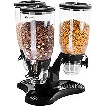 Royal Catering Dispenser per Cereali con 3 Contenitori (Capacità 9 l)