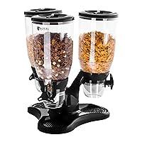 Dispenser per cereali RCCS-9L/3 di Royal Catering Conserva ermeticamente gli alimenti nel dispenser per cereali con 3 contenitori RCCS-9L/3 e vizia i tuoi ospiti offrendo loro cereali sempre croccanti e semplici da dosare. Il dispenser per ce...