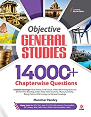 14000+ Chapterwise Questions Objective General Studies for UPSC /Railway/Banking/NDA/CDS/SSC and other competi