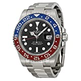 Rolex GMT-Master II White Gold Pepsi Red & Blue Ceramic Unworn 116719 Watch 2016