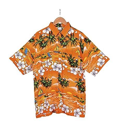 BFD One mens Hawaiian shirt aloha beach party size S