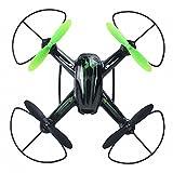 W toy Intelligent Mini Petit Avion à Quatre Axes Roulant Effets Spéciaux Avion Modèle Opérateur Télécommande,Vert foncé,30 cm ou moins