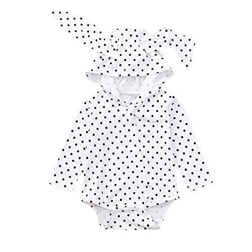 Shopaholic0709 Neugeborenes Baby Langärmelige,Baby Junge Mädchen (6-24 Mt) -