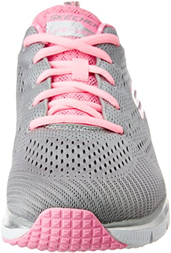Skechers Damen Fashion Fit Statement Piece Sneakers Grey