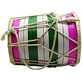 Decorative Handmade indienne en bois Multicolor Mini Dholak For Kids - 7,5 pouces