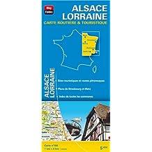 Alsace Lorraine : 1/200 000