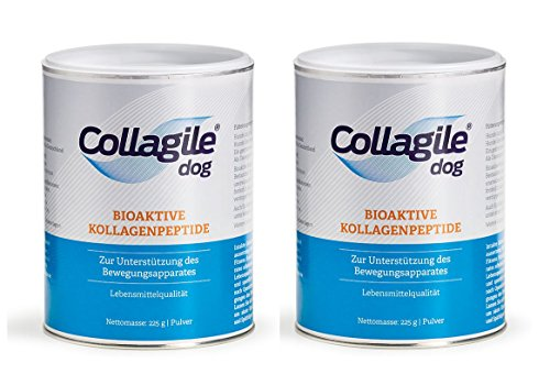 2x Collagile® dog 225g + 1x Collagile® pet OPTI-MSM 250g