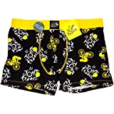 Le Tour de France - Boxer Homme Tour de France Officiel - Noir, Jaune