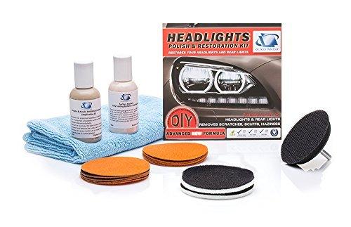 Scheinwerfer und tail-lights Wiederherstellung DIY-Reparatur-Set–entfernt Kratzer, Wiederherstellung Dull, Blasse, verfärbte Scheinwerfer