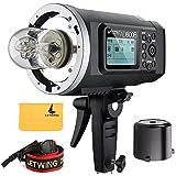 Godox AD600B Flash Speedlite TTL 2,4G Bowens Mount avec 8700mAh Lithium Li-ion PowerPack Pour DSLR Caméras Canon Nikon Sony etc