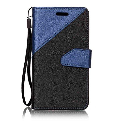 Nancen Galaxy J1 Mini Prime Hülle PU Leder Tasche Schutzhülle Flip Case Wallet für,...