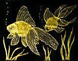 Melissa & Doug Scratch Art Paper - Gold & Silver Foil w/Stylus