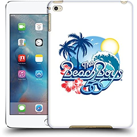 Ufficiale The Beach Boys Logo anniversario 50 anni Arte Chiave Cover Retro Rigida per Apple iPad mini 4 - 50 ° Anniversario Prova