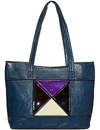 Kézitáska Women Top Handle Satchel Handbags Shoulder Bag Top Purse Messenger Tote Bag Travel Duffle Bag - B077Y4VZJG
