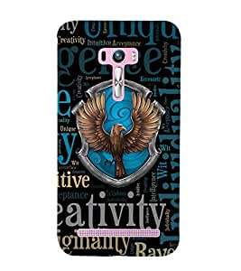 CREATIVITY Designer Back Case Cover for Asus Zenfone Selfie::Asus Zenfone Selfie ZD551KL