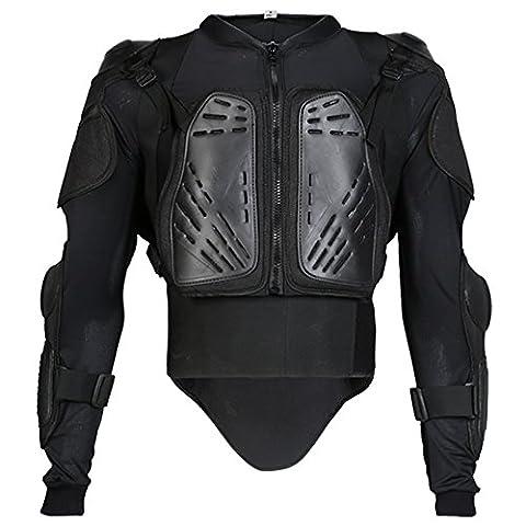 Texpeed - Veste renforcée - protection dorsale amovible - noir - XS