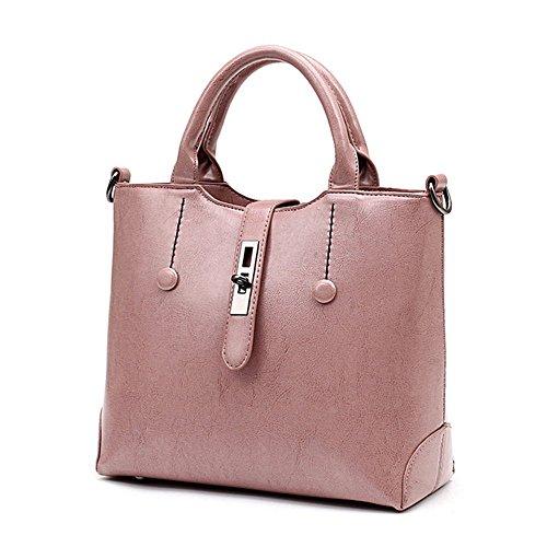 Eysee, Borsa tote donna rosa Pink 30 cm * 24 cm* 13 cm Pink