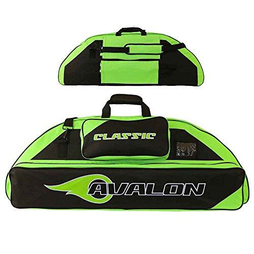 AVALON Classic - 116 cm - Compoundbogentasche mit Rucksackfunktion schwarz-grün