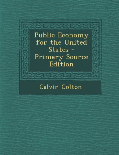 Public Economy for the United States