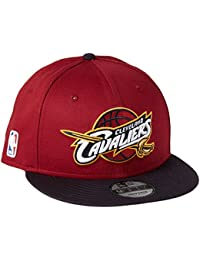 New Era Nba Team 9fifty Cleveland Cavaliers Offical Team Colour, Casquette de Baseball Homme