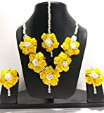 Best Necklace For 2 Prime - Shivi Jewels Yellow White Flower 1 Necklace, 2 Review