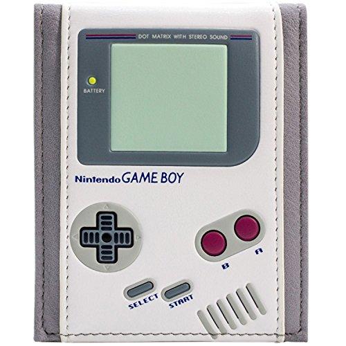 Nintendo Game Boy Original Retro-Konsole Weiß Portemonnaie Geldbörse