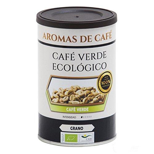Aromas de Café - Café Verde Con Jengibre Y Cardamomo/Reduce la Sensación de Hambre Ideal para Complementar la Dieta, 50 gr