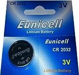 Eunicell - 1pila de botón CR2032,litio, 3V