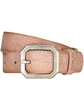 REPLAY Gürtel Damengürtel Ledergürtel Damenledergürtel Rosa 5259