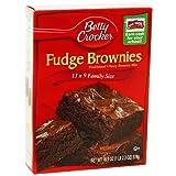 Betty Crocker Fudge Brownie Mix 519g (3 Packs) American Version
