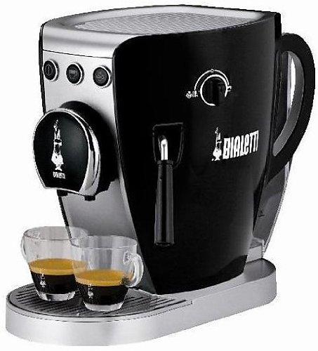 Bialetti-CF37-Cafetera-Independiente-Espresso-machine-Coffee-pod-De-caf-molido-Negro-Botones-Giratorio-Caf-expreso