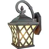 Larsure Vintage Industrial Style Wandleuchte Wandleuchte Lampe Amerikanische Wandleuchten rustikal im Stil wand Abdichtung mit E27 Sockel für Haus, Bar, Restaurants, Café, Club Dekoration, eine