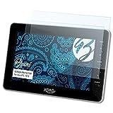 Bruni Schutzfolie kompatibel mit Xoro PTL 1010 Folie, glasklare Bildschirmschutzfolie (2X)