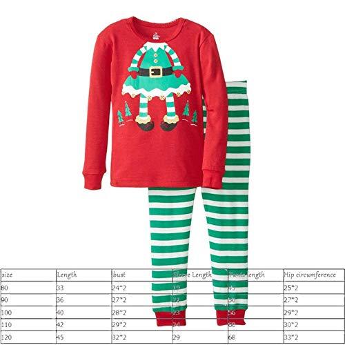 SPFAZJ Herbst und Winter Baby Kleidung Baumwolle Lange Ärmel Weihnachten Kinder Zuhause Kind Set Junge Mädchen