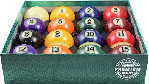 Aramith 2–1/10,2cm Verordnung Größe Premium Billard/Pool Bälle, komplett 16Ball Set (Pool Belgische)
