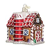 Feewerain Ornament: Lebkuchen Barn Glass Blown-Verzierungen für Baum neuen Geschenk