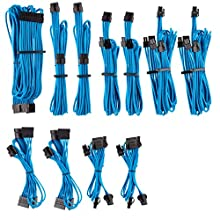 Corsair Premium Individually Sleeved PSU Cables Pro Kit Type 4 Gen 4 – Blue