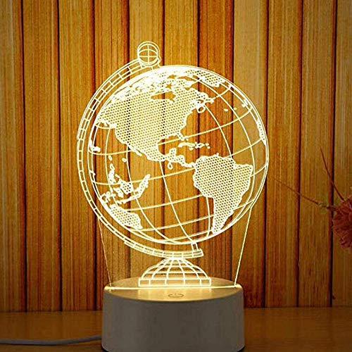 Schlummerlicht Nachtlicht Led Tisch Schreibtisch Schlafzimmer Dekor Geschenk Warmweiß Lampe Beleuchtung Lampe Dekor Nachtlichter Schlummerleuchten Für Kinder LEEDY (H)