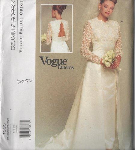 vogue-1535-wedding-dress-size-6-8-10