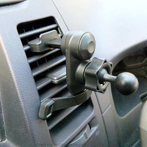 Montura base de fácil encaje en rejilla de ventilación compatible con Garmin Nuvi GPS