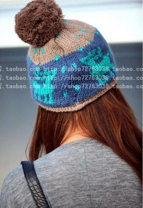 Winter Hat Knit Russian Cute Trapper Warm Cool Girl Women Brim Winter