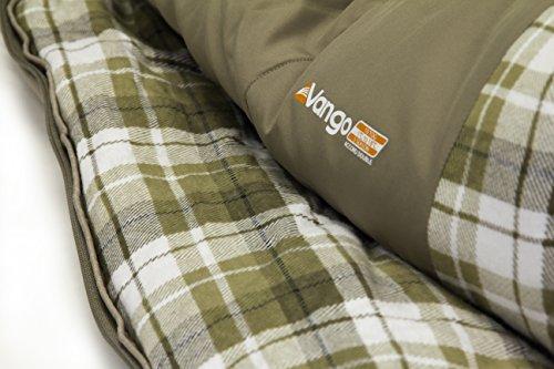 brand new 65cbf 52068 Vango Accord Square Sleeping Bag, Nutmeg, Double - UKsportsOutdoors